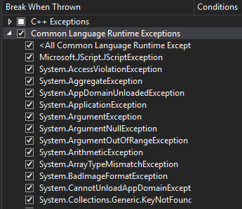 ExceptionSettings 3