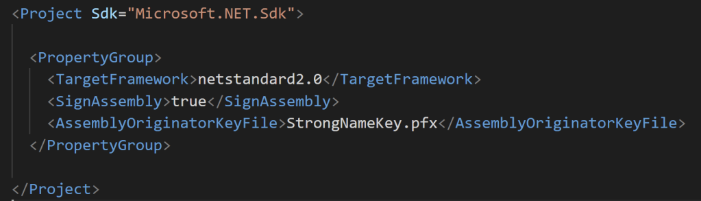 .NET – How to Sign an Assembly in Visual Studio 2019